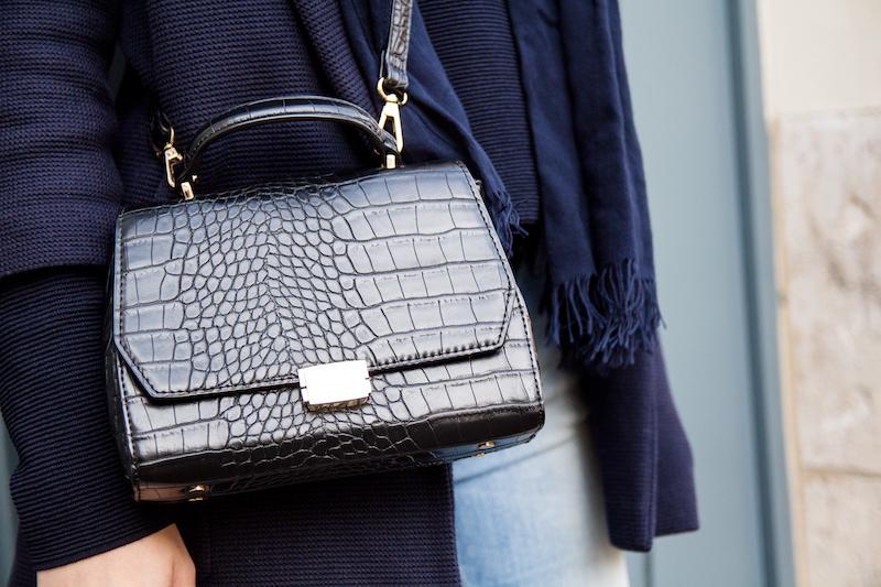Detail, bag, animal, croc
