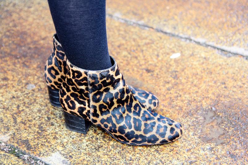 Detail, Leopardmuster, Leopard Boots, Booties