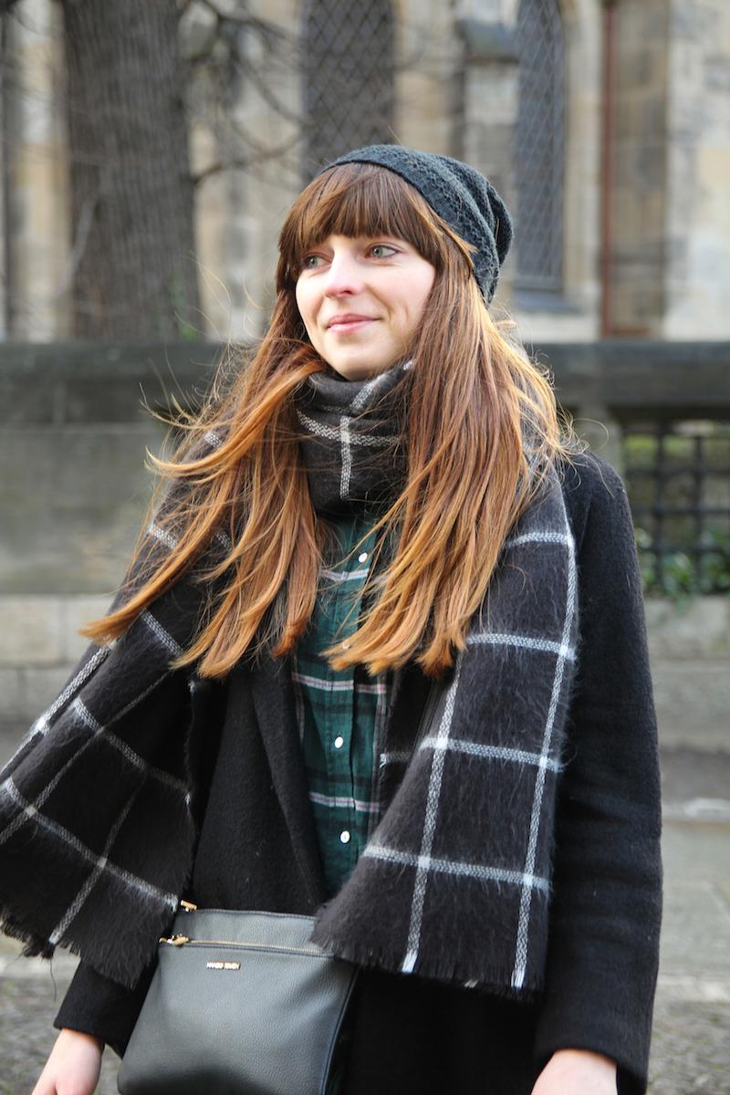 plaid scarf, tartan