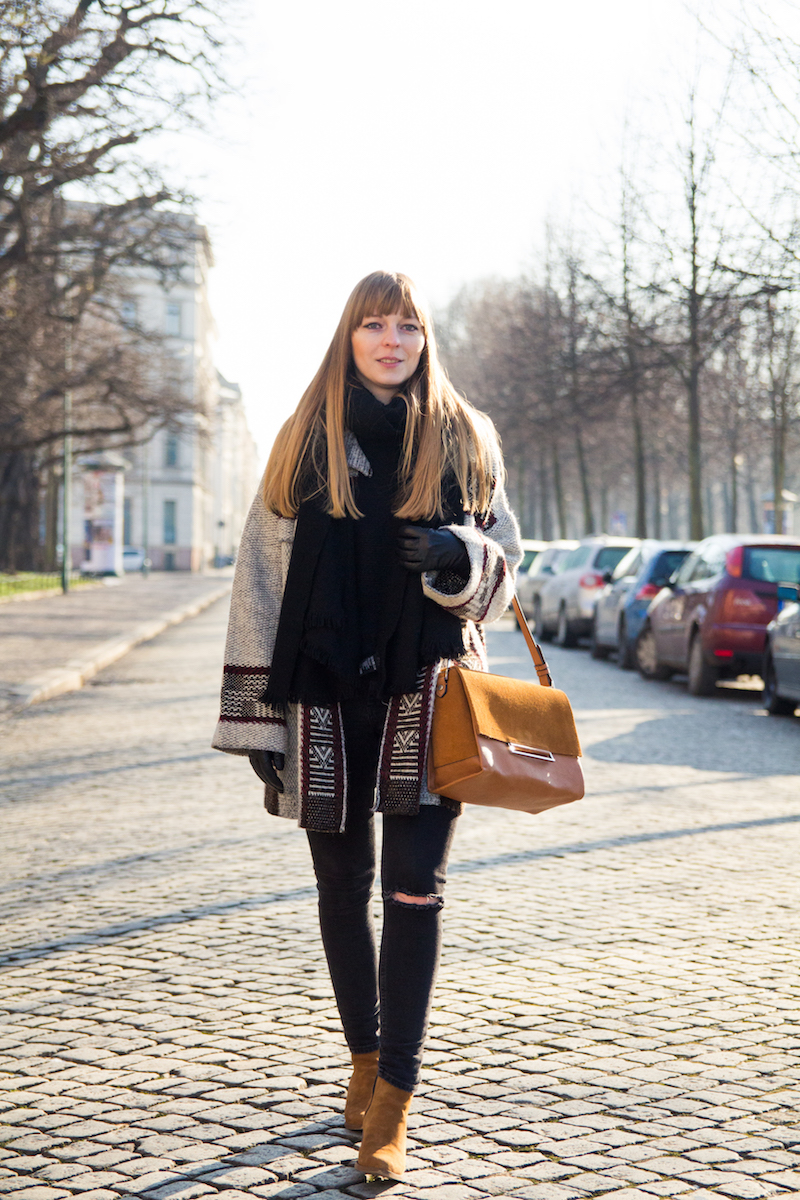 brown city bag, outfit, look, stylish, Blogger, Bloggerstyle, Fashionblogger, Modeblogger, Zara Tasche, Asos Jeans