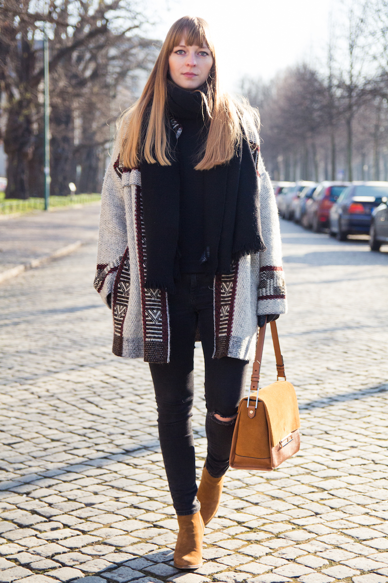 Fashionblog, Outfit, Bloggerstyle, oversized cardigan, Zara, how to style, was im Winter anziehen, Modeblogger