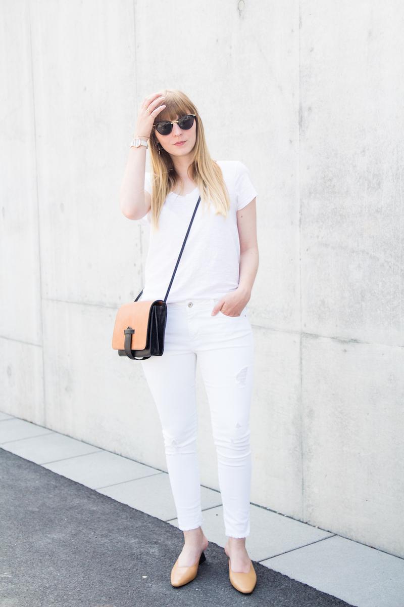 all white, Outfit, komplett weiß, wie kombinieren, wie tragen, how to wear