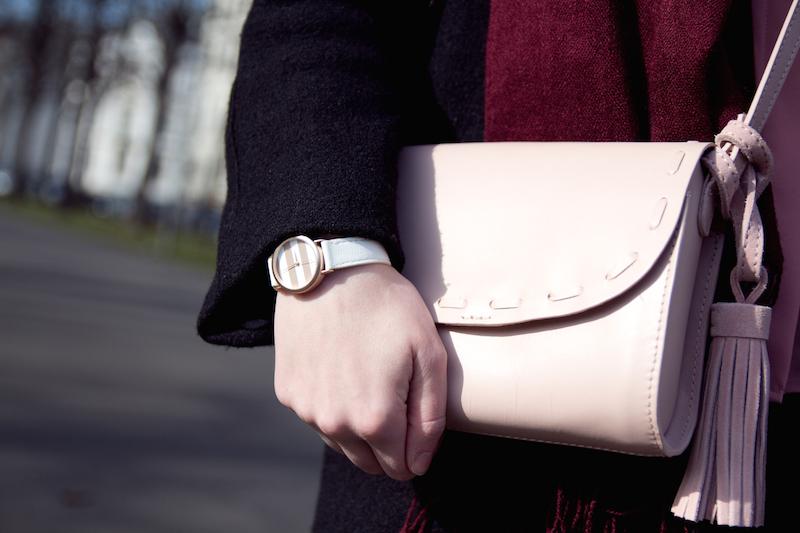 light pink bag, rosa tasche