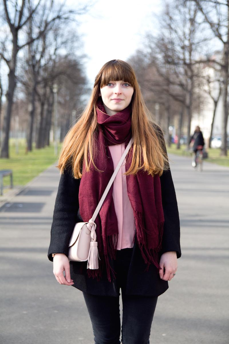 light pink, rose, spring, blogger outfit