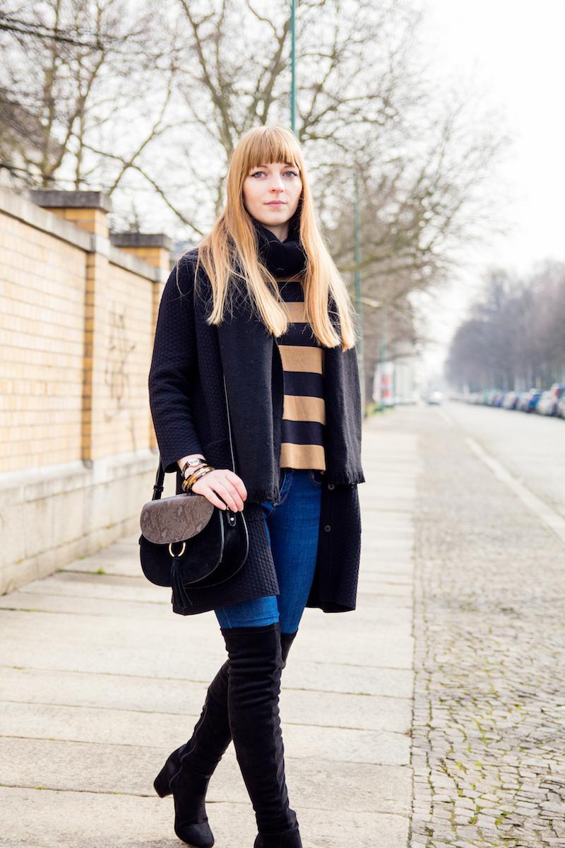 Modeblogger, Fashionblogger, saddle bag, Satteltasche, over the knee, Overknees