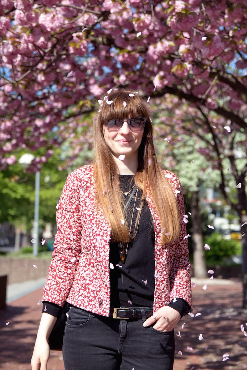 bloggerstyle, flower jacket
