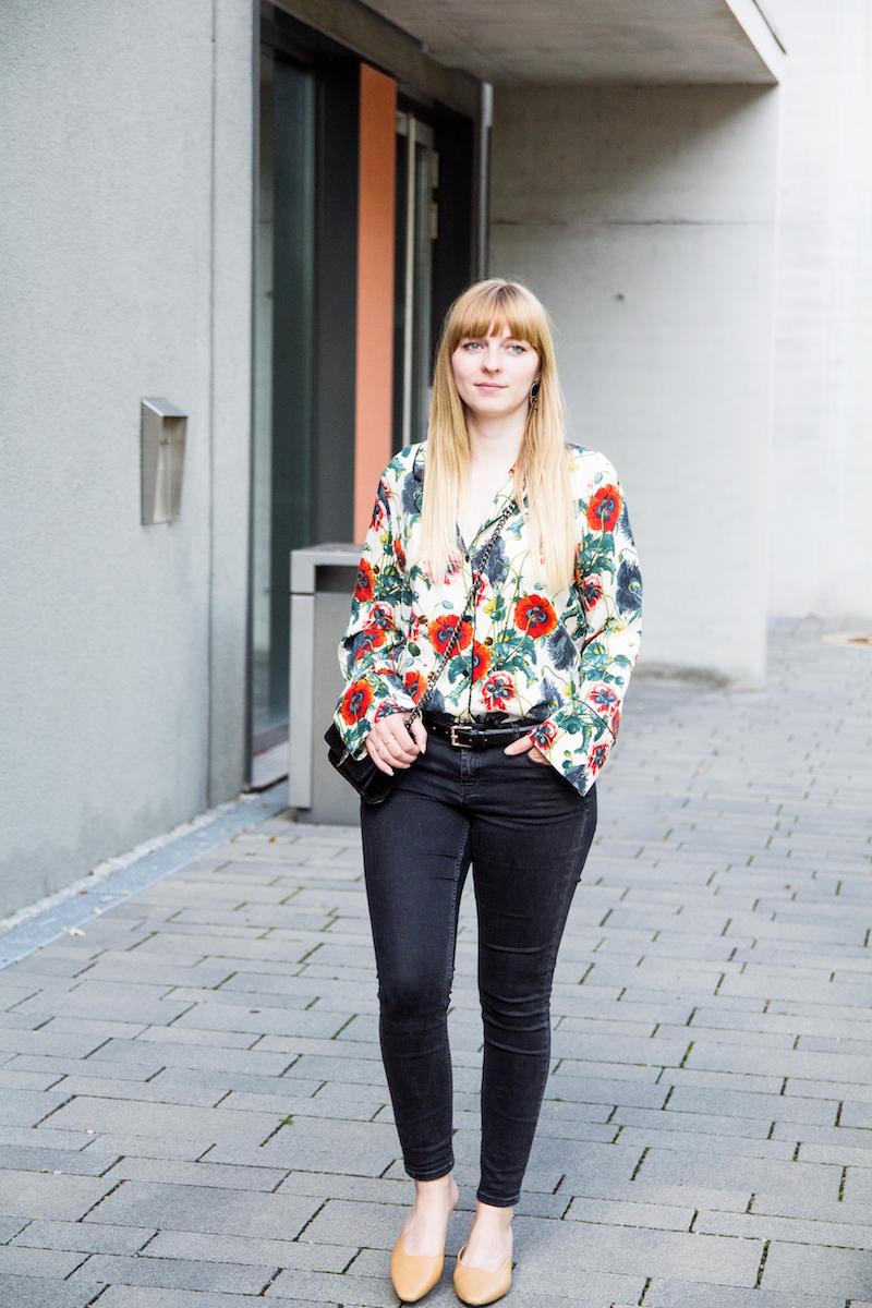 Pyjama Look, Streetstyle, geometric pumps,