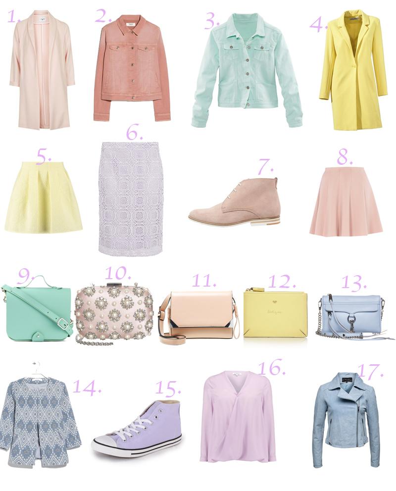 pastell, pastellfarben, pastel clothing