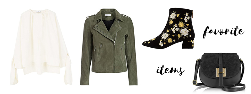 favorite items, flower boots