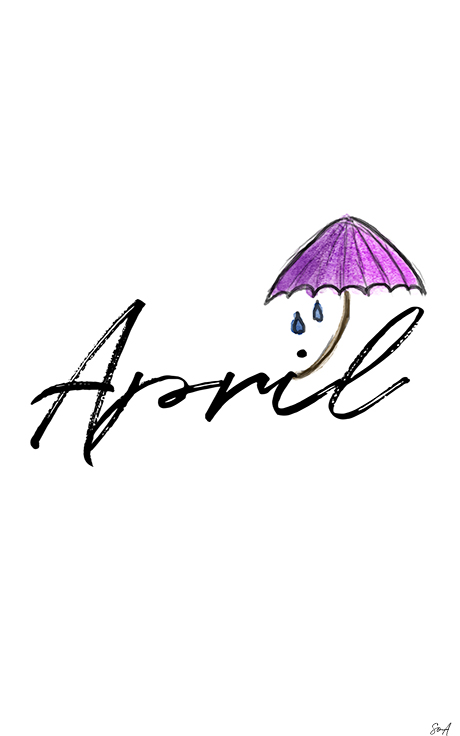 April, Wallpaper, Freebie, Handy, Smartphone,
