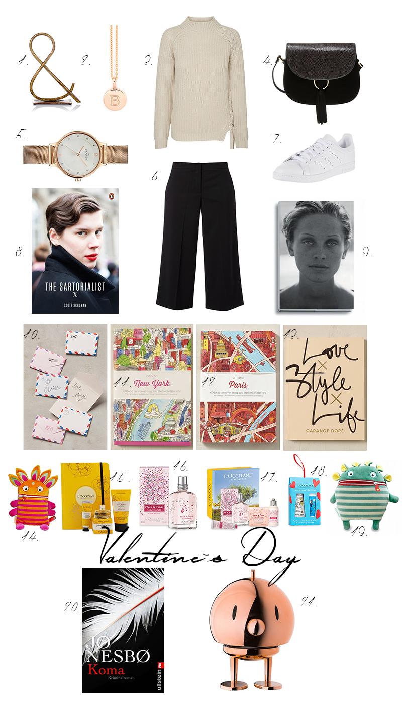 gift guide, gift ideas, Valentinstag, Valentines Day, coffe table books, Buchstabenkette, Bücher, Sorgenfresser