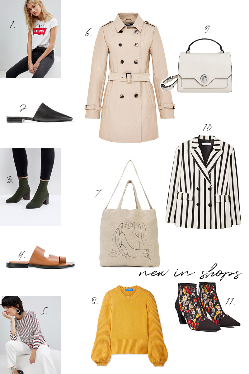 shopping, trends, spring, new in, stripes, trenchcoat