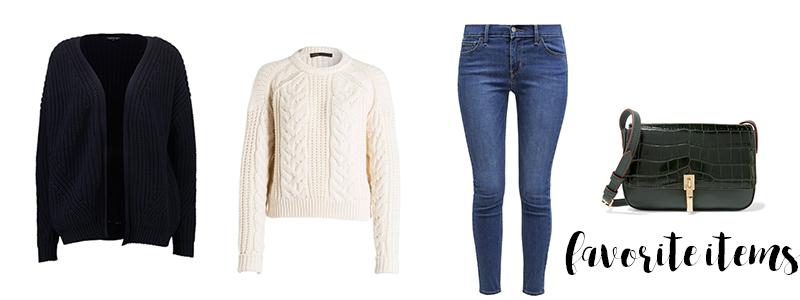 shopping, favorite items, knitwear