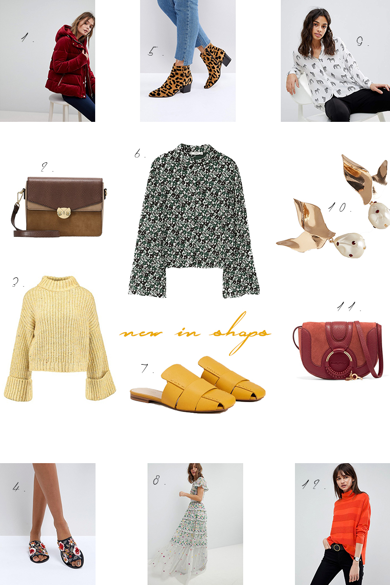 new in shops, shopping, inspiration, blogger, spring, winter, new items