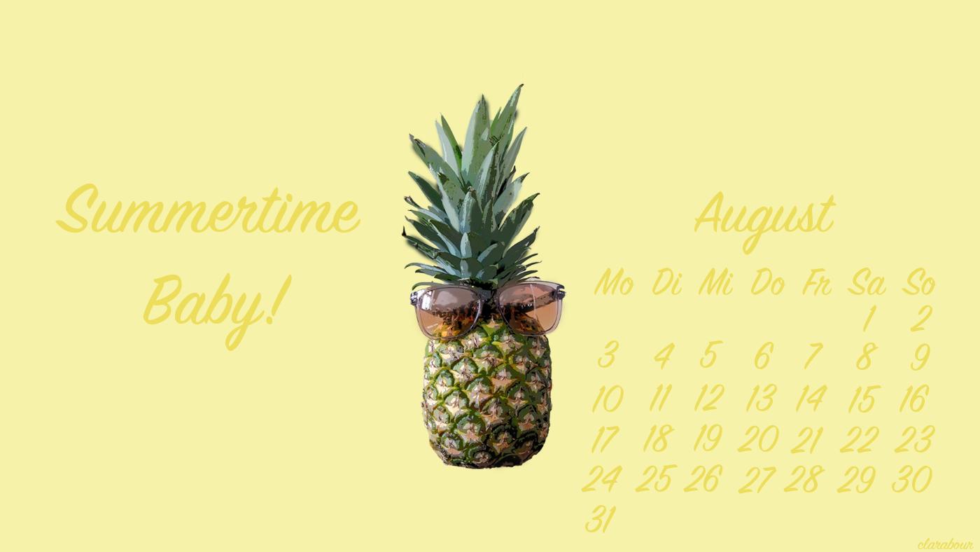 wallpaper, ananas, sonnenbrille
