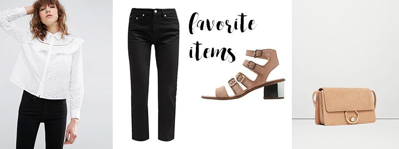 favorites of the week, favorite items, nude sandals, beige chloé look alike bag