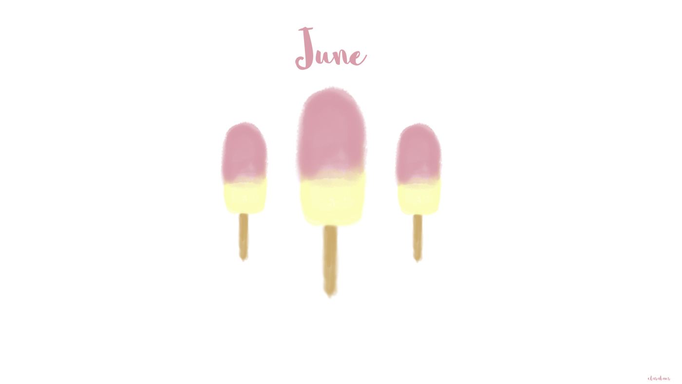 Freebie, wallpaper, Juni, Juni, ice, eis, creme, Desktop, Idee, Design