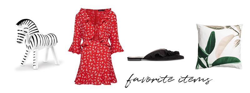 favorite items, summer dress