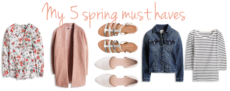 5 spring must haves