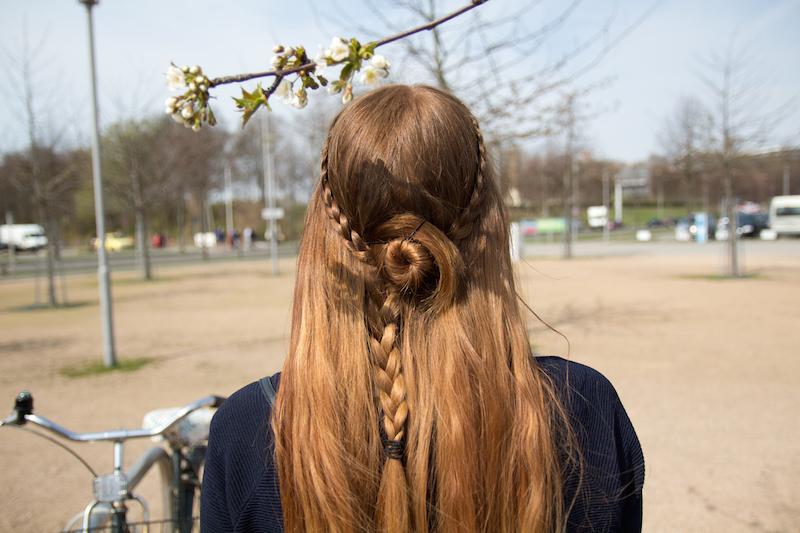 flower braid, tutorial, how to, rosette braid, step by step