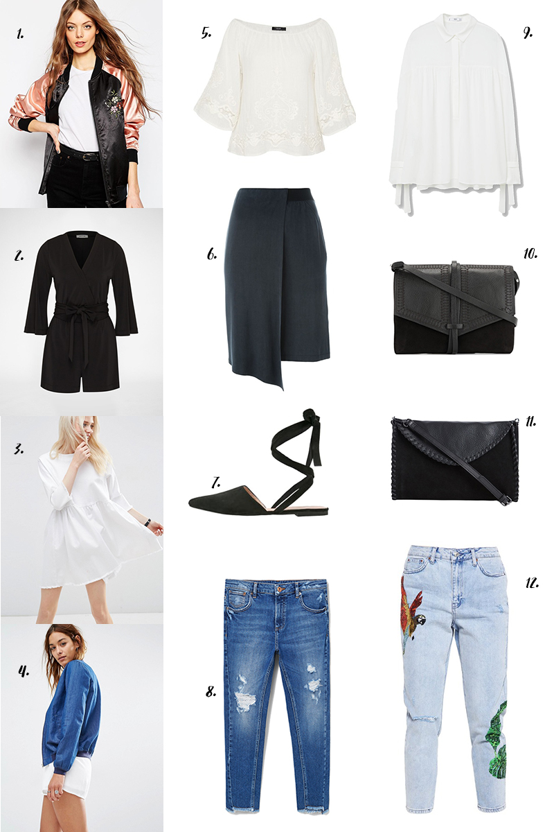 shopping, new in shops, neue Kleidung, Modeblog, weiße Bluse, gute Jeans, Fransen, Bomberjacke