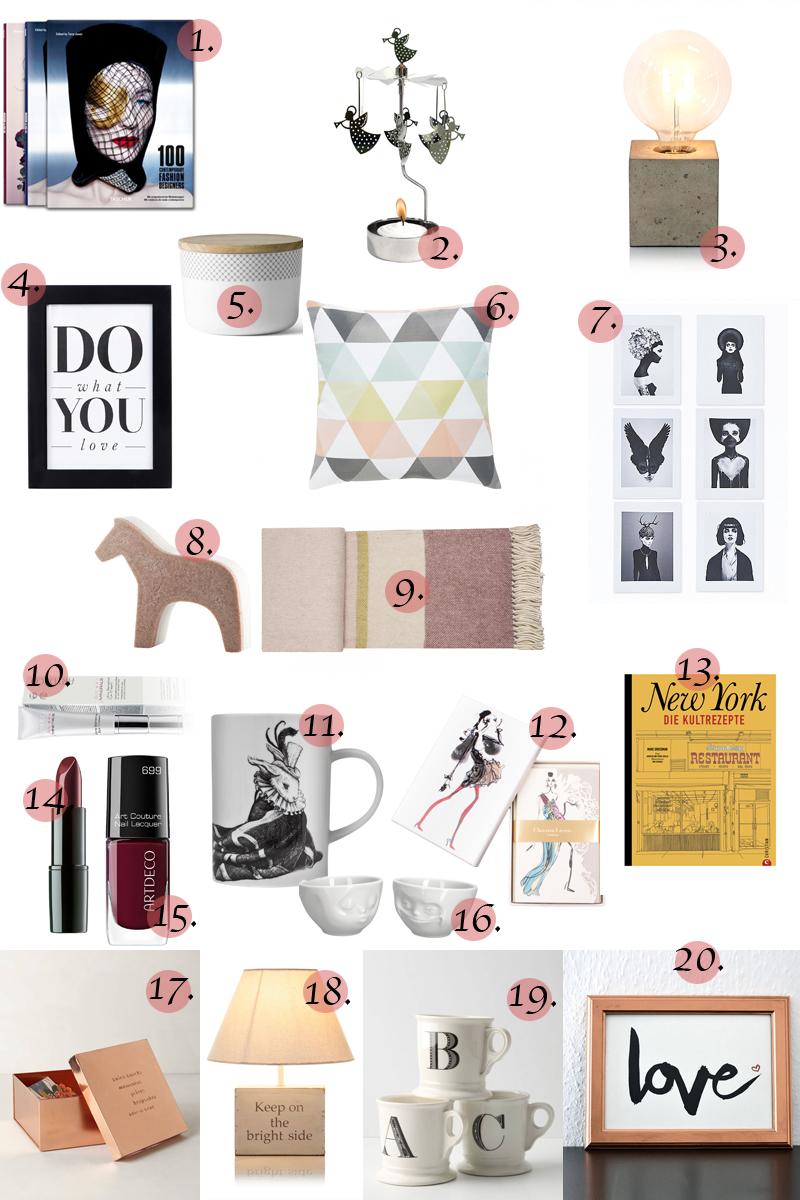 gift guide, geschenkideen