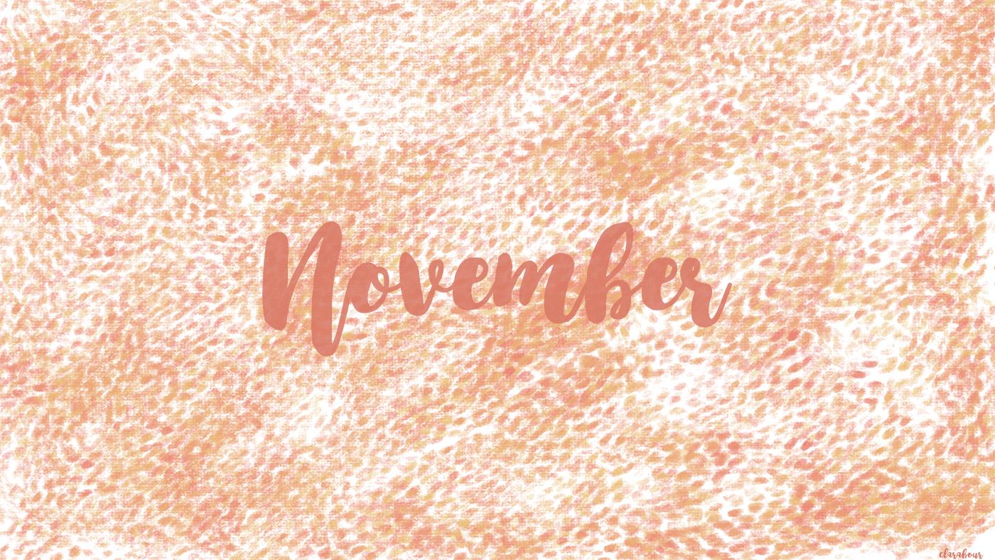 Freebie, Wallpaper, Desktop, Hintergrund, November, Impression