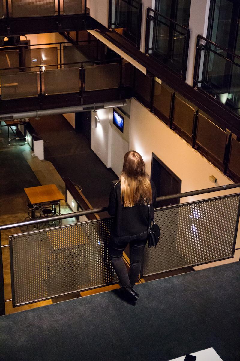 Gastwerk Hamburg, Blick vom Atrium Zimmer,