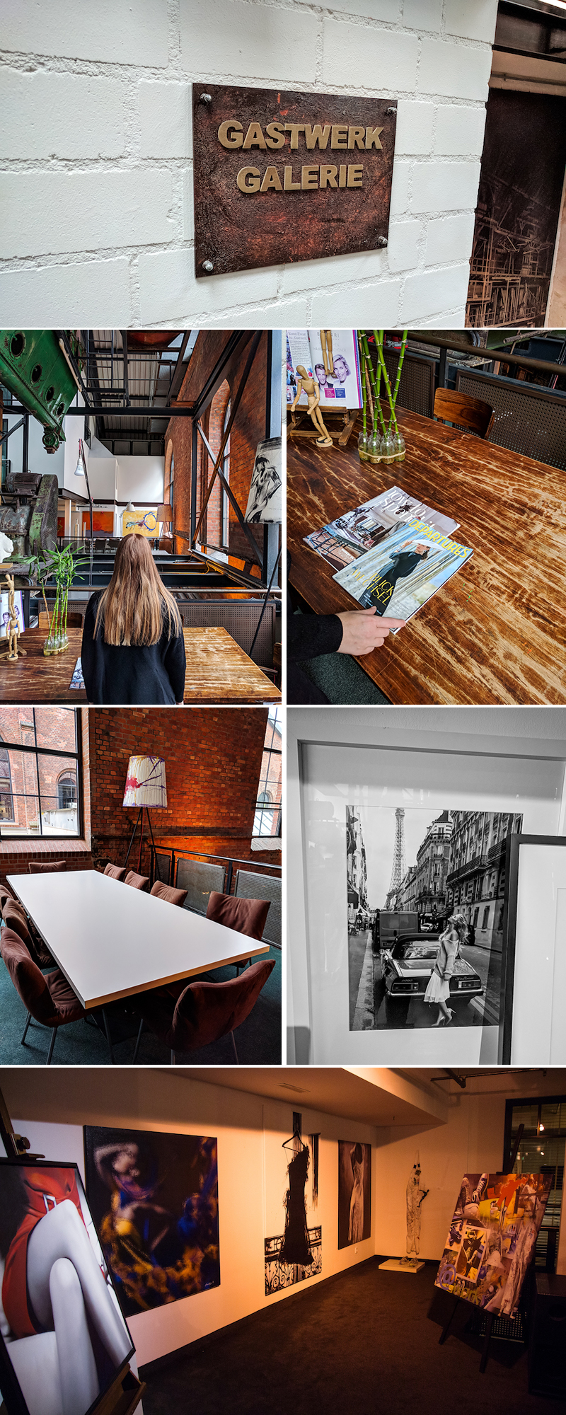 Galerie, Gastwerk Hamburg, Kunst, Design, Lounge, chillen
