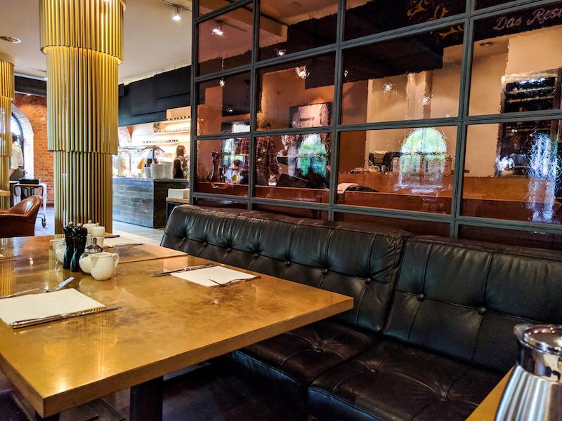 Restaurant, mangold, Frühstücksraum