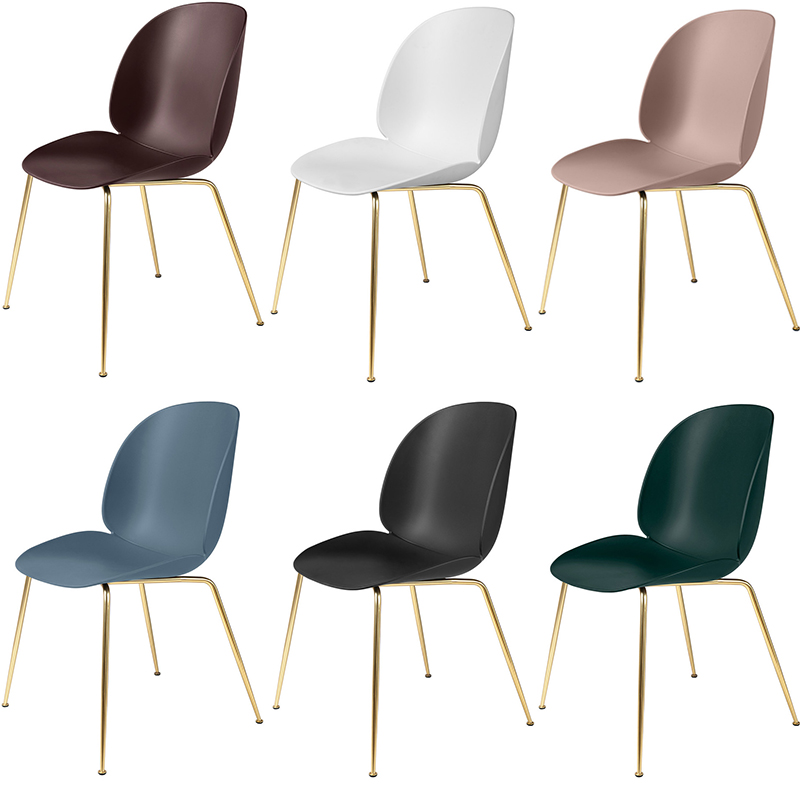 beetle dining chair, Esszimmerstühle