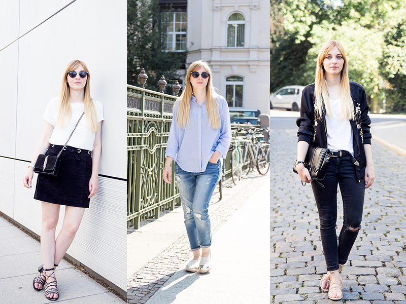 Outfits, September, Look, Streetstyle, lace up sandalen, ripped jeans, Modeblog, Fashionblog