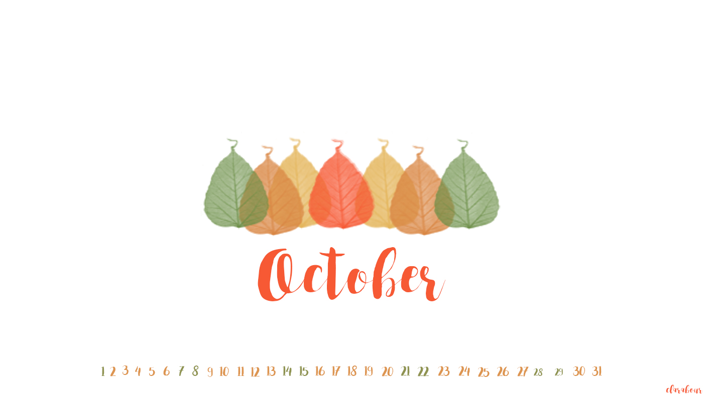 Desktophintergrund, freebie, wallpaper, Goodie, Oktober, Laub. leaves