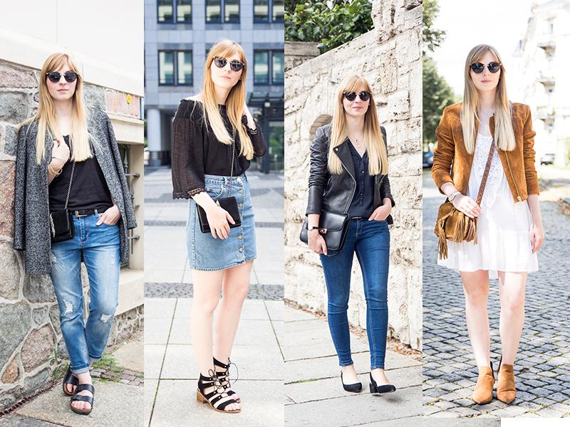 Outfit, Rückblick, Review, Streetstyle, Modeblog, boho dress, button front denim skirt, Boyfriend Jeans