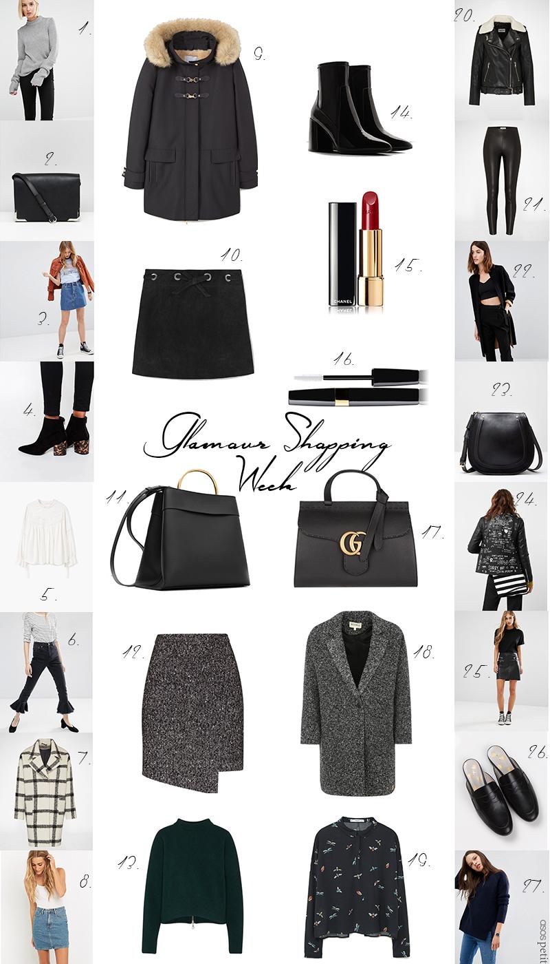 Glamour Shopping Week, Herbst 2016, Favoriten