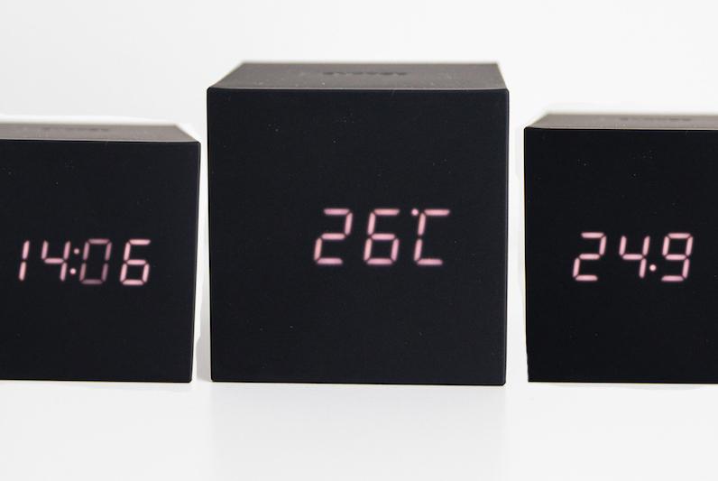 Gravity Cube Clock